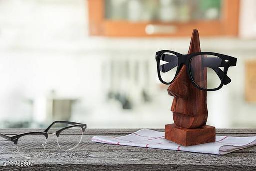 Wooden Handcarved Spectacles Holder