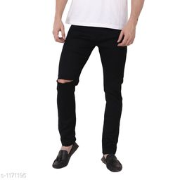 Stylish Men's Cotton Lycra Jeans