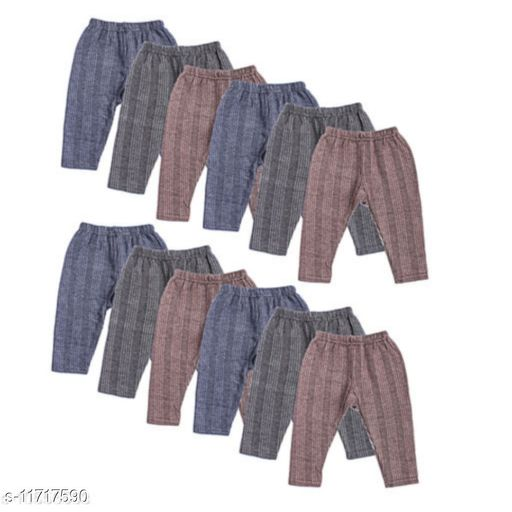 Low Price Mall Kids Thermal Track Pant For Baby Boys & Baby Girls Pack Of 10