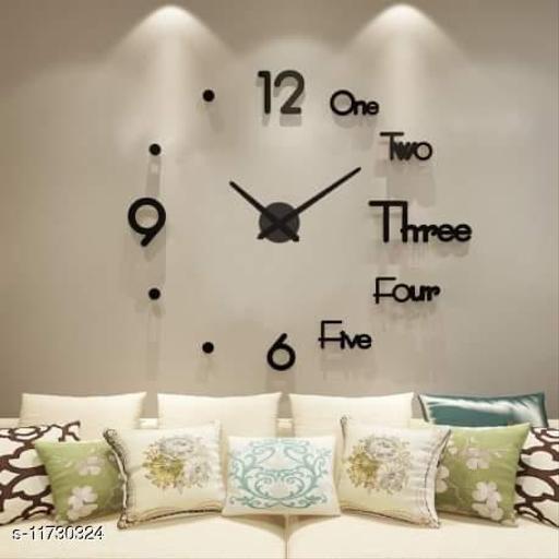 StylicTrendy Designer  Acrylic Wall Clock