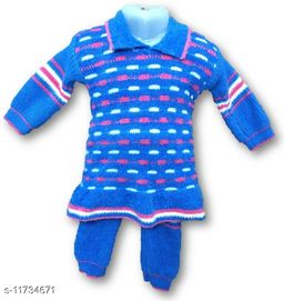 Toddler Choice Girl Top and Bottom Thermal Wear Set