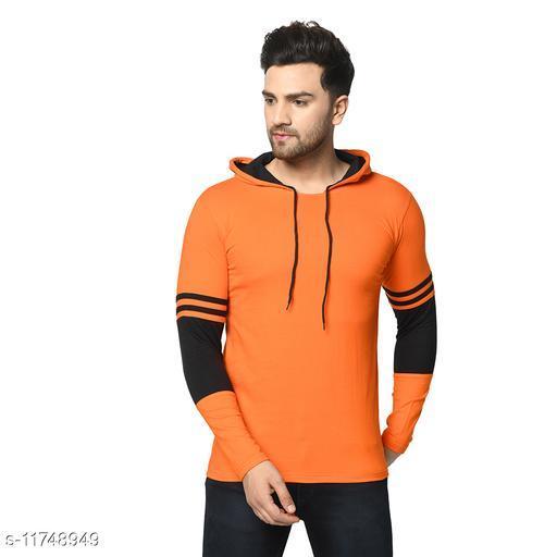 Stylish Men's Hooded Tshirt