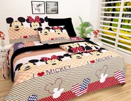 Attractive bedsheets