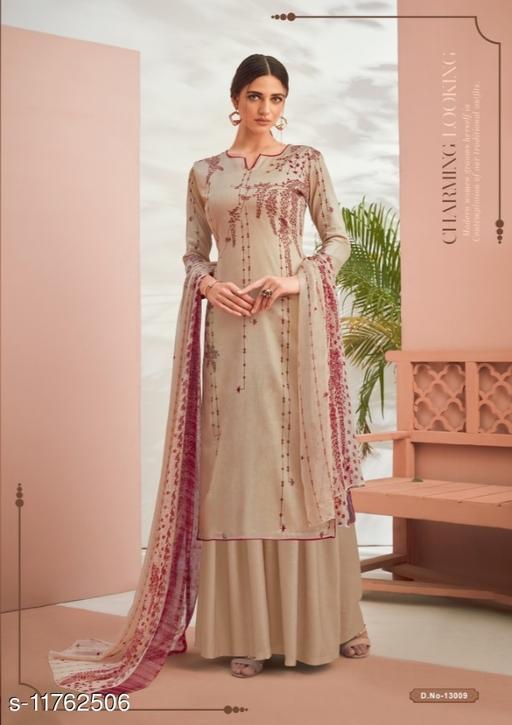 Designer Pashmina Digital Print Woolen suit