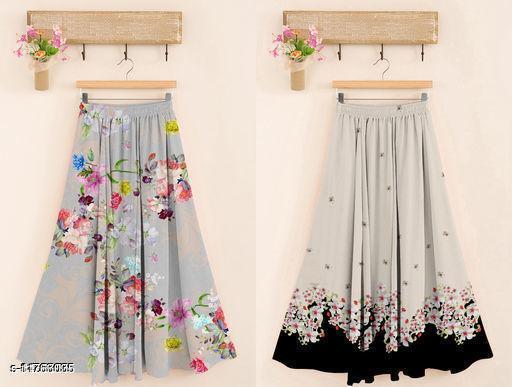 Charvi Graceful Women Ethnic Skirts