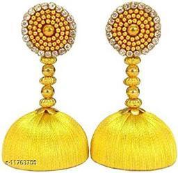 Threadwork Beautiful Earrings For Girls And Women