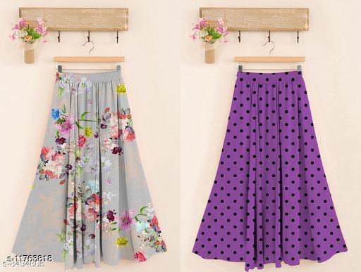 Rayon Fabrics Skirt