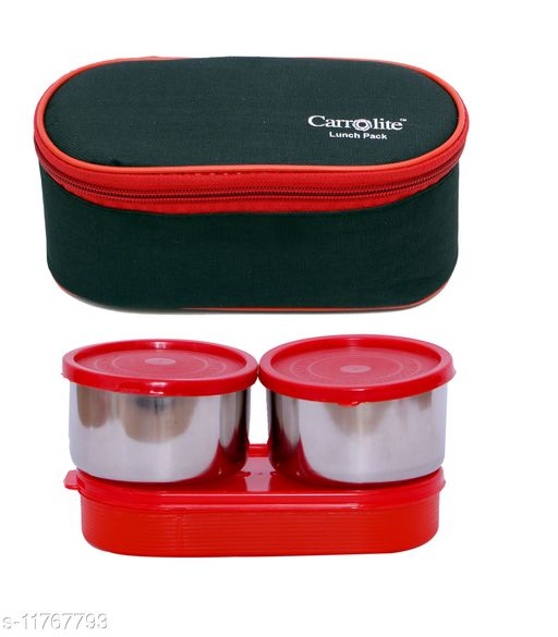 3 in 1 Black-Red (All Red) Lunchbox
