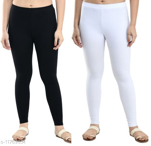 Casual Ankle Length Leggings Combo of 2