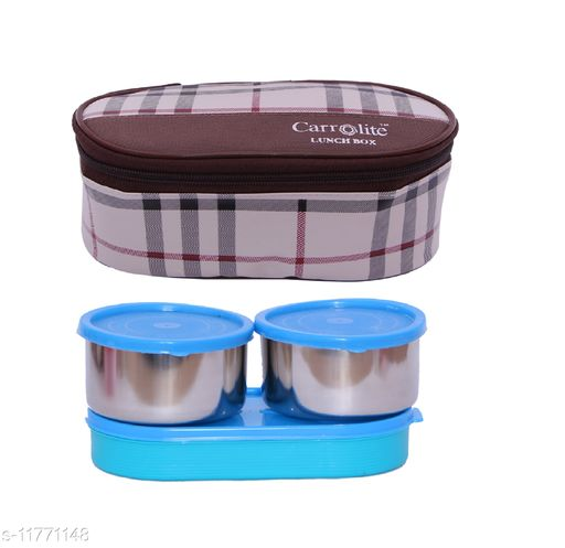 3 in 1 Brown-White Barbary (All Syan) Lunchbox