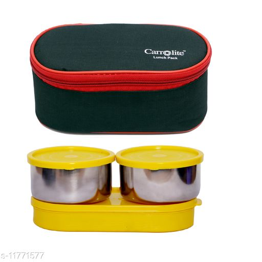 3 in 1 Black-Red (All Yellow) Lunchbox