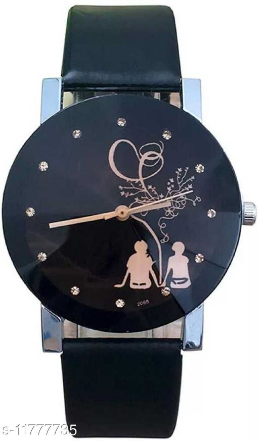 Bolun Stylish women watches ladies wrist watches for girls prism glass black Women watch