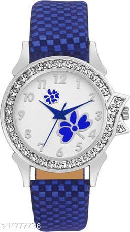 Bolun Blue ButterFly watch Standard Quality watch For Womeen Analog Women Watch