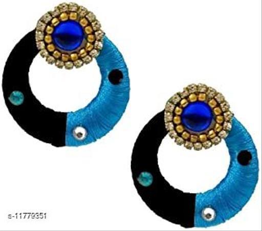 Threadwork Thread Earrings