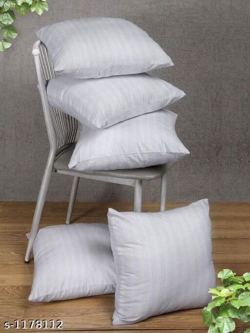 Comfy Polyester Solid Cushion