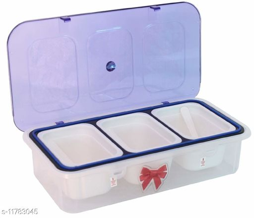 Dry Fruits Container Snacks Box Namkeen Box Biscuits Container,Plastic containers for Storage (Dry Fruits NOT Included)