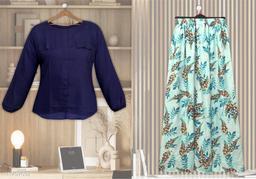 Trendy Designer Top & Bottom Set