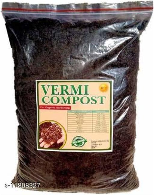 OEHB 100% Organic Premium Quality Cow dung Based Vermicompost 5 kg