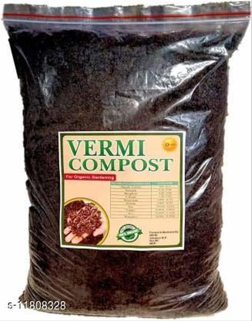 OEHB 100% Organic Premium Quality Cow dung Based Vermicompost 1 kg