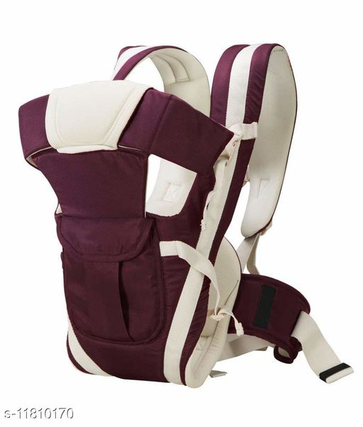 Baby Carrier with 4 Carry Positions, for 6 to 36 Months Baby with Safety Belt Max Weight Up to 12Kg (Purple color)
