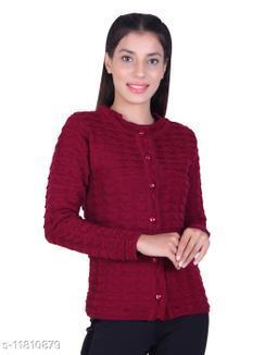 Ogarti woollen stylish Women's cardigan