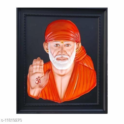 Sai Amrut Sai Baba stone 3D Photo Frame for Home Decor