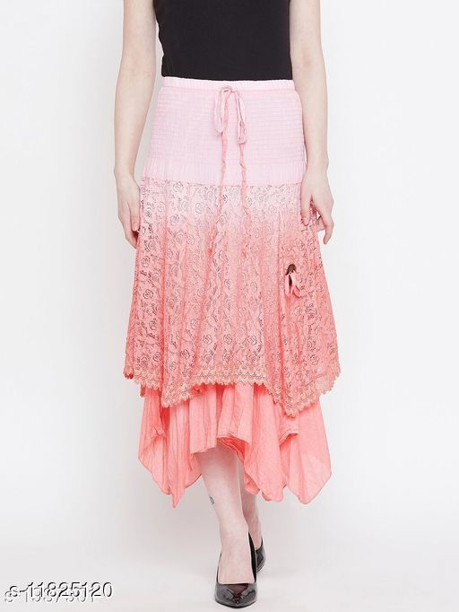 Trendy Beautiful Cotton Skirt