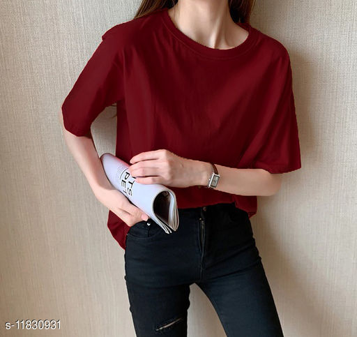 Women's Cotton Oversized Tshirts