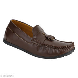 QUARKS Brown  LOAFERS