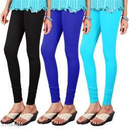 Abhey Garments Pack of 3 Woollen Leggings