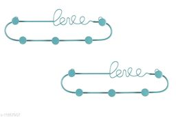 Home Decoration LOVE Key Holder  Colorurfull Key Holder for Wall Keychain Hanger