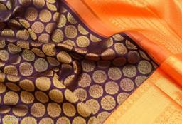 Tulja Kanjivram silk saree