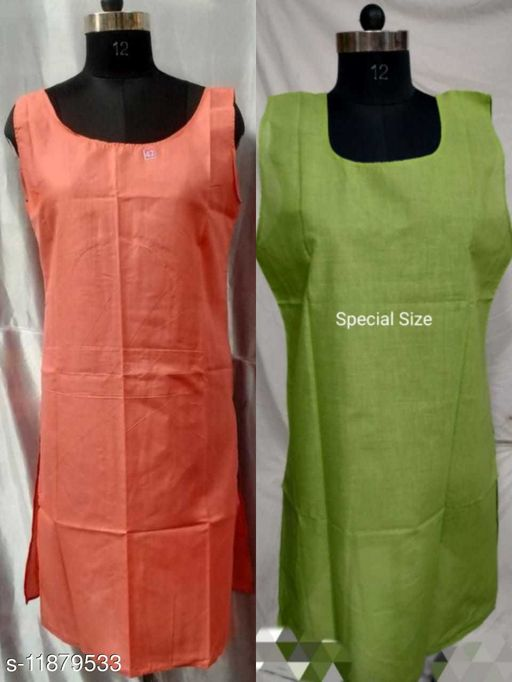 Attractive cotton Nightdress Pack of 2