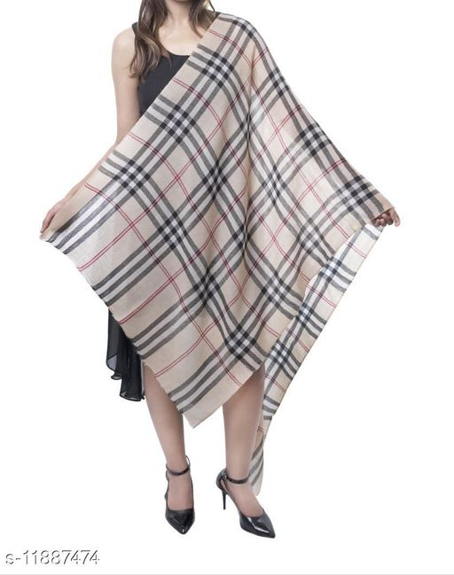 Burberry Beige Check stole