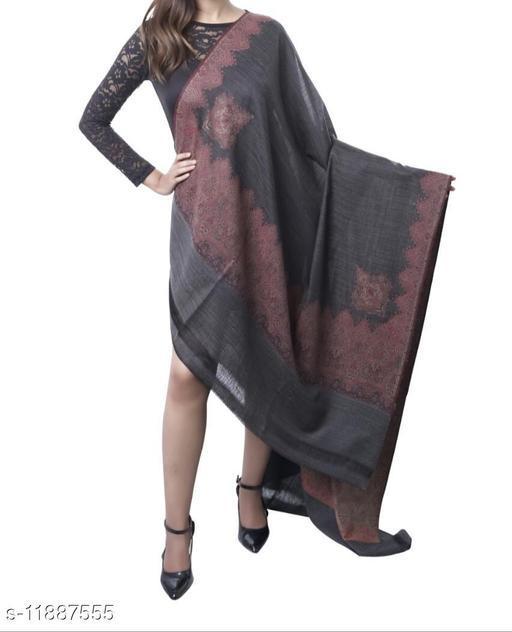 Melange kunj wool Shawl