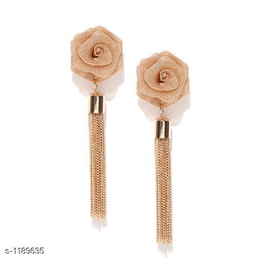Stylish Copper Drop Earring