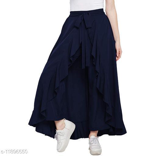 Designer Women's Ruffle Skirt Free Size