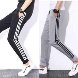 Casual Polyester Track Pants ( Pack Of 2 )