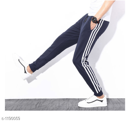 Casual Polyester Track Pants