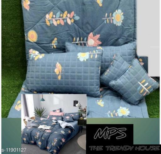Stylish Glace Cotton 90x100 Single Bedding Set