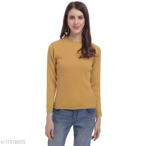 HaltonHills Round Neck Full Sleeve Sweater for Women