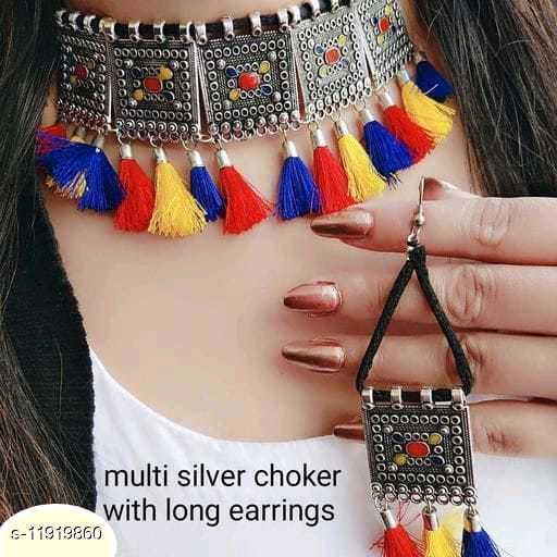 Beautifull Choker With Earrings