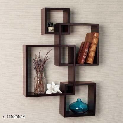 Wooden Square Attach Shelf