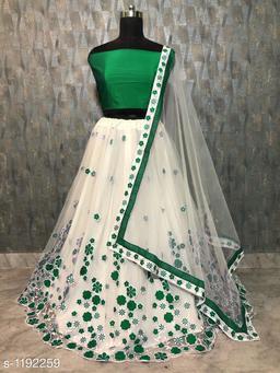Versatile Embroidered Women's Lehenga
