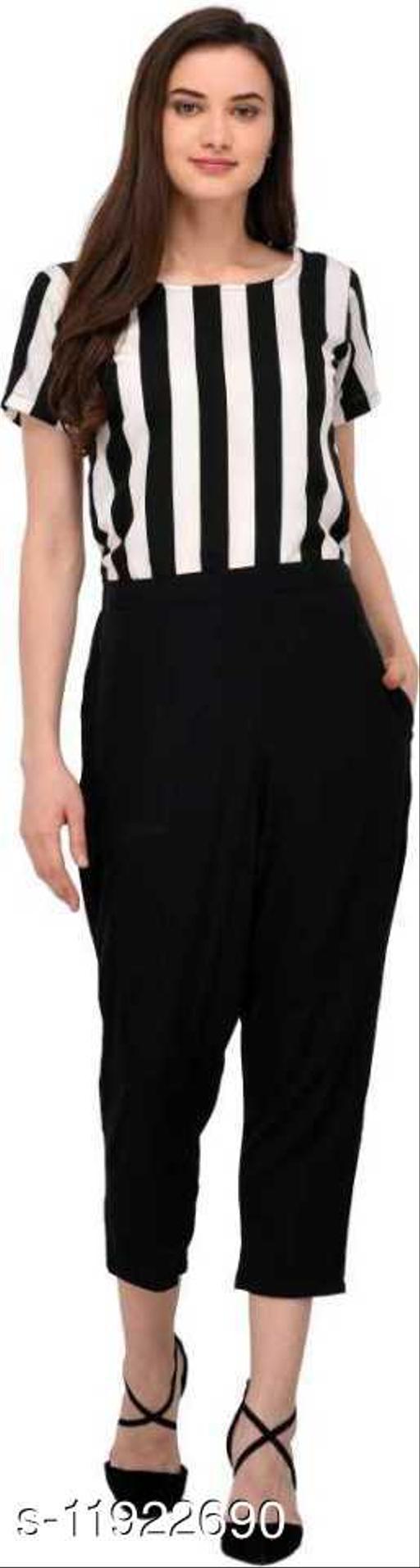 Sanjana fashion Crepe Jumpsuit