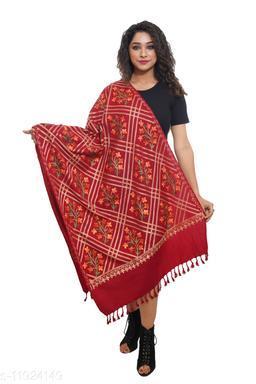 Beautiful Women's Red Shawls