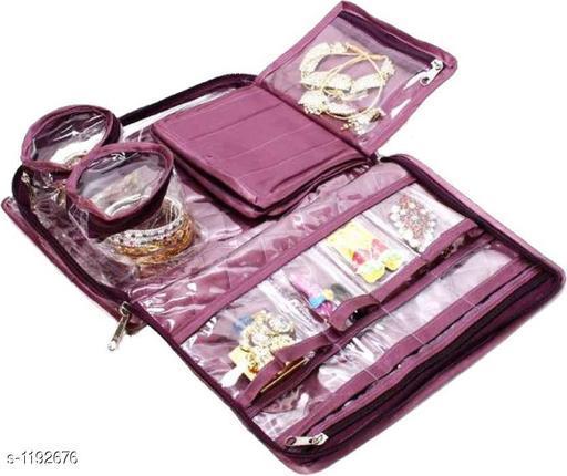 Stylish Multipurpose Jewellery Organisers(Purple)