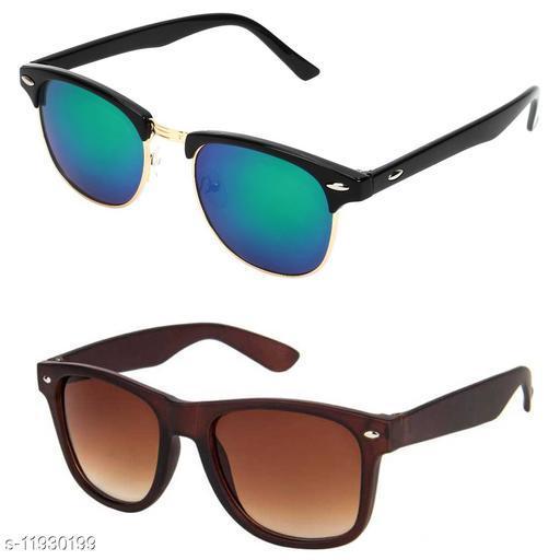 Taj Combo of 2 Sunglasses Men & Women