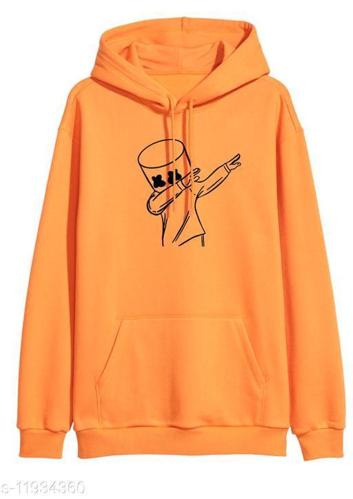DANCEMELLO Printed Hooded Neck Sweatshirt for Men