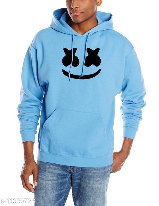 MARSH Printed Hooded Neck Sweatshirt for Men